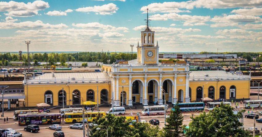 Жд возал Ярославль